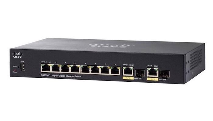 Cisco SG350-10MP